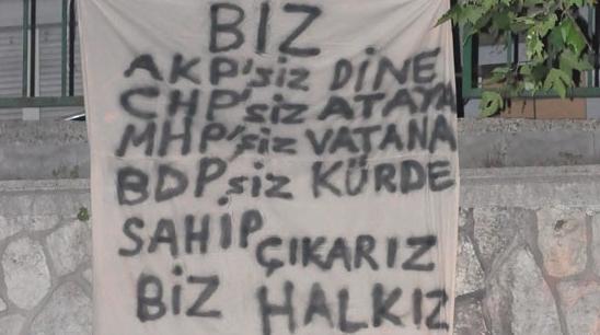 Gezi Parkı Direnişi Duvarlara da Yansıdı 6