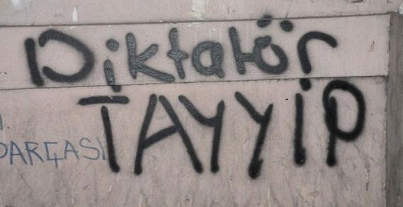 Gezi Parkı Direnişi Duvarlara da Yansıdı 7