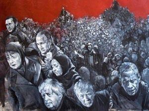 Liderleri 'Mülteci' Olarak Çizdi