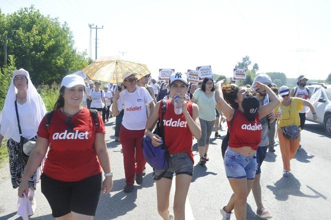 'Adalet Yürüyüşü'nden Kareler 21
