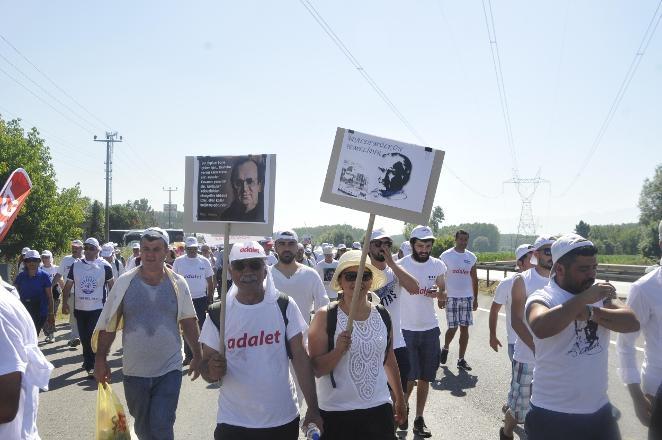'Adalet Yürüyüşü'nden Kareler 22