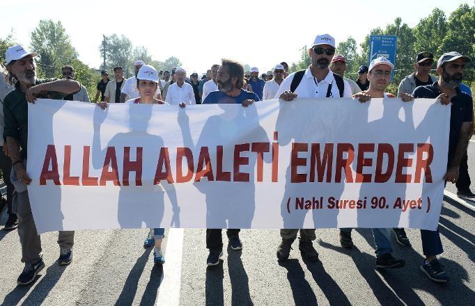 'Adalet Yürüyüşü'nden Kareler 29