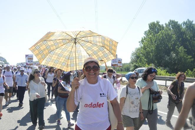 'Adalet Yürüyüşü'nden Kareler 39