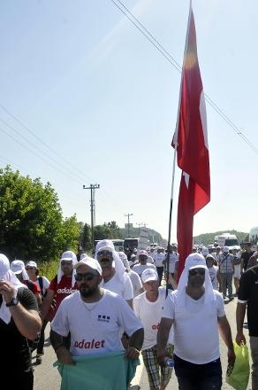 'Adalet Yürüyüşü'nden Kareler 43