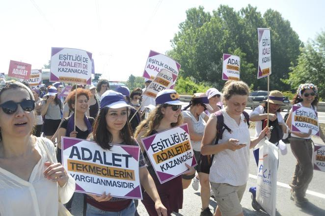 'Adalet Yürüyüşü'nden Kareler 52