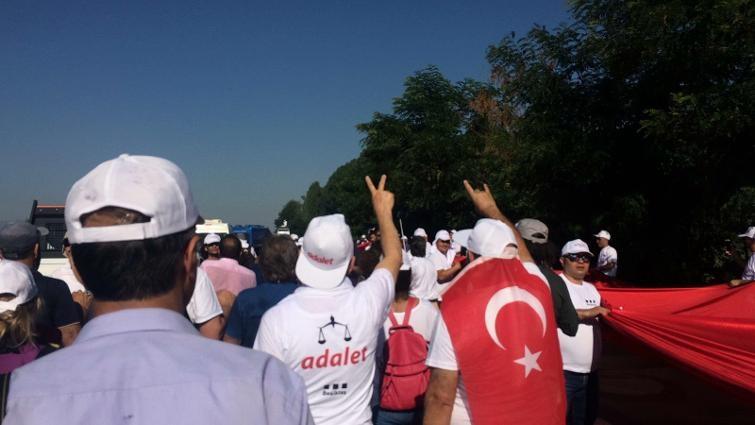 'Adalet Yürüyüşü'nden Kareler 55