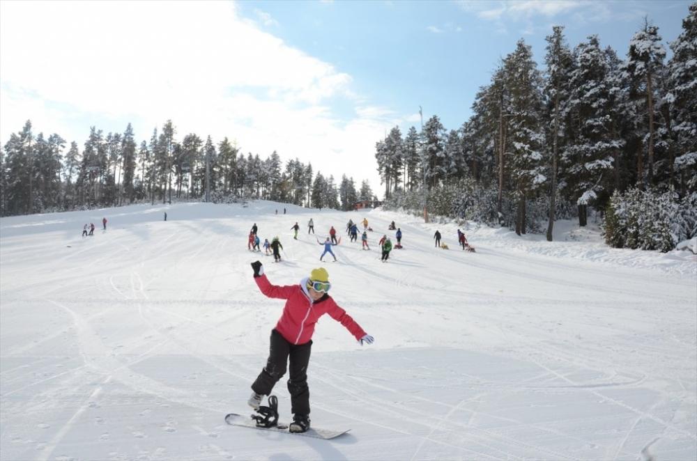 Sarıkamış'ta Kayak Sezonu Açıldı 10