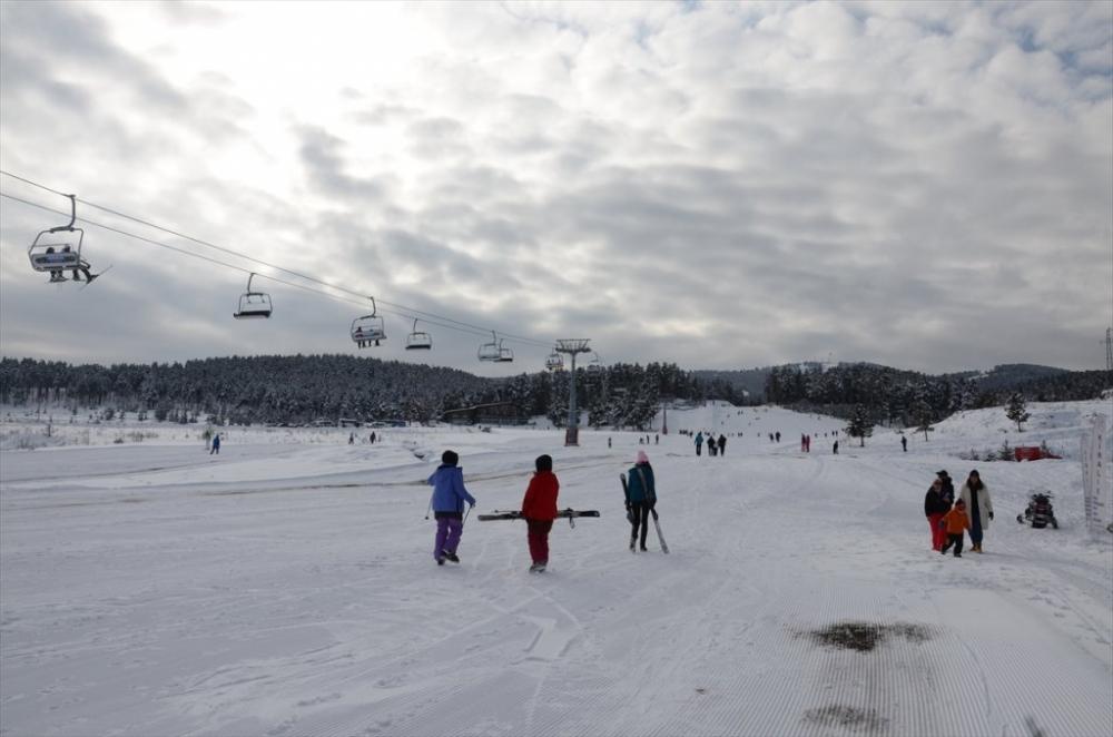 Sarıkamış'ta Kayak Sezonu Açıldı 11