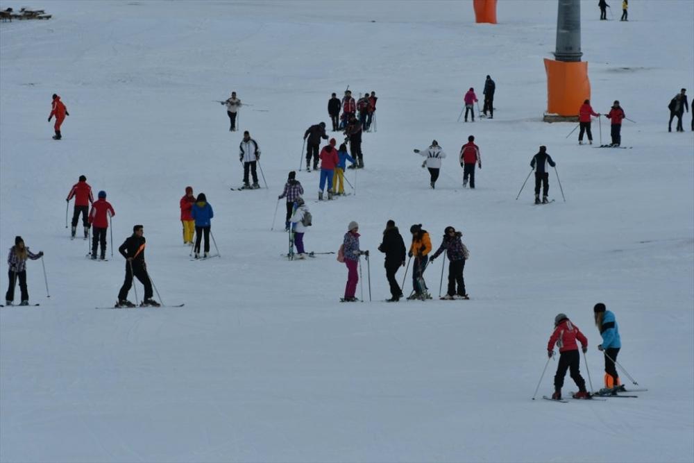 Sarıkamış'ta Kayak Sezonu Açıldı 12