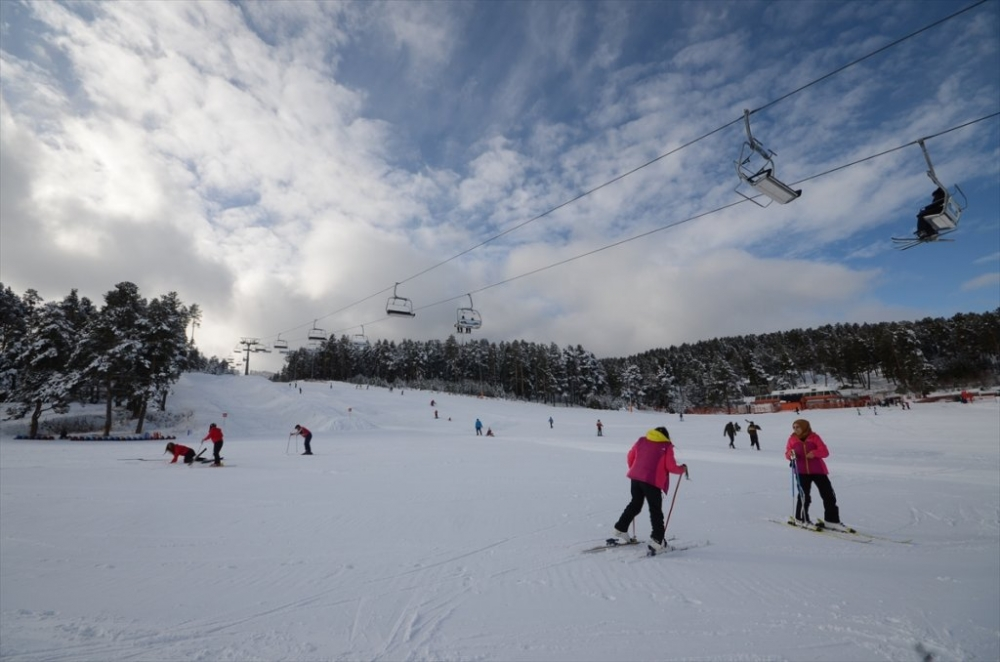 Sarıkamış'ta Kayak Sezonu Açıldı 13