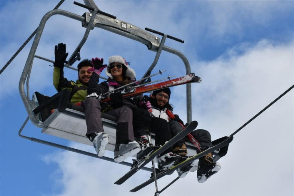 Sarıkamış'ta Kayak Sezonu Açıldı 16