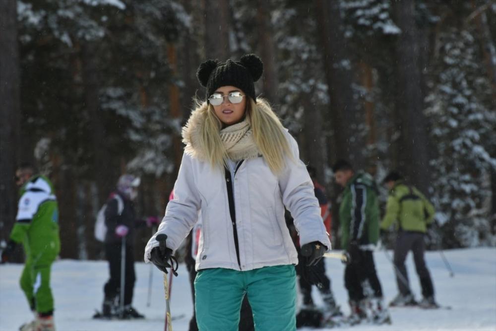 Sarıkamış'ta Kayak Sezonu Açıldı 17