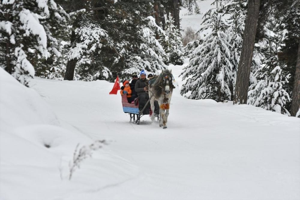 Sarıkamış'ta Kayak Sezonu Açıldı 19