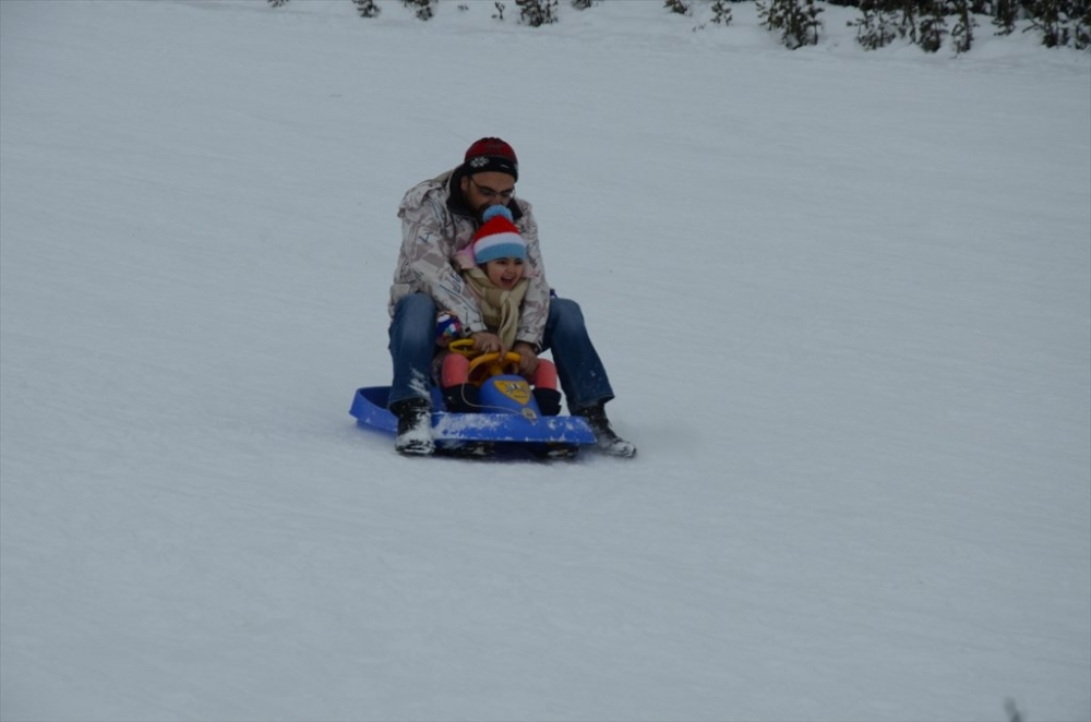 Sarıkamış'ta Kayak Sezonu Açıldı 2