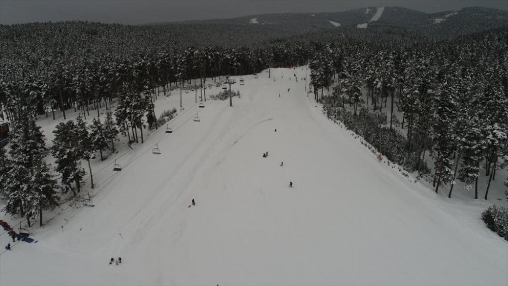 Sarıkamış'ta Kayak Sezonu Açıldı 20