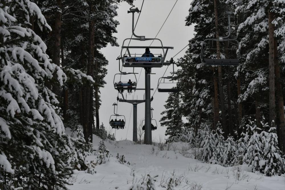 Sarıkamış'ta Kayak Sezonu Açıldı 27