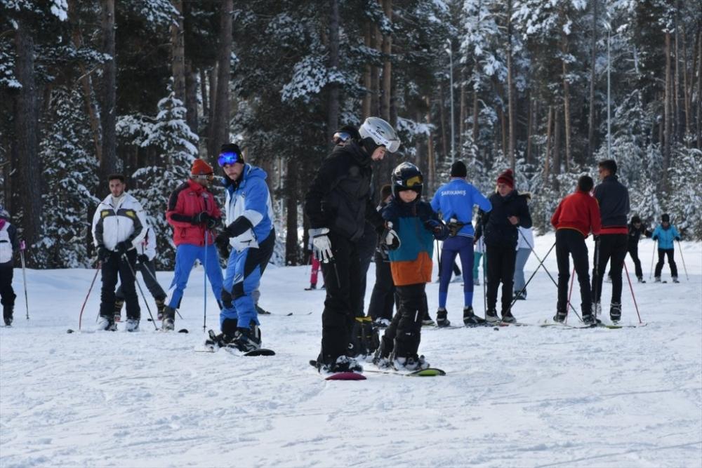 Sarıkamış'ta Kayak Sezonu Açıldı 28
