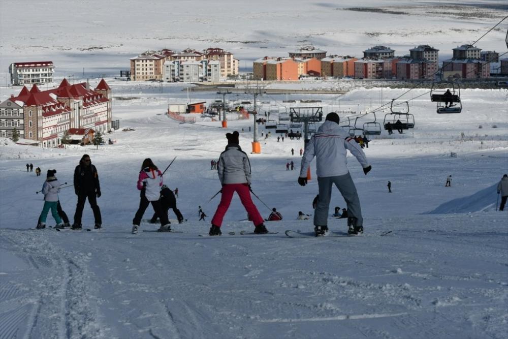 Sarıkamış'ta Kayak Sezonu Açıldı 29