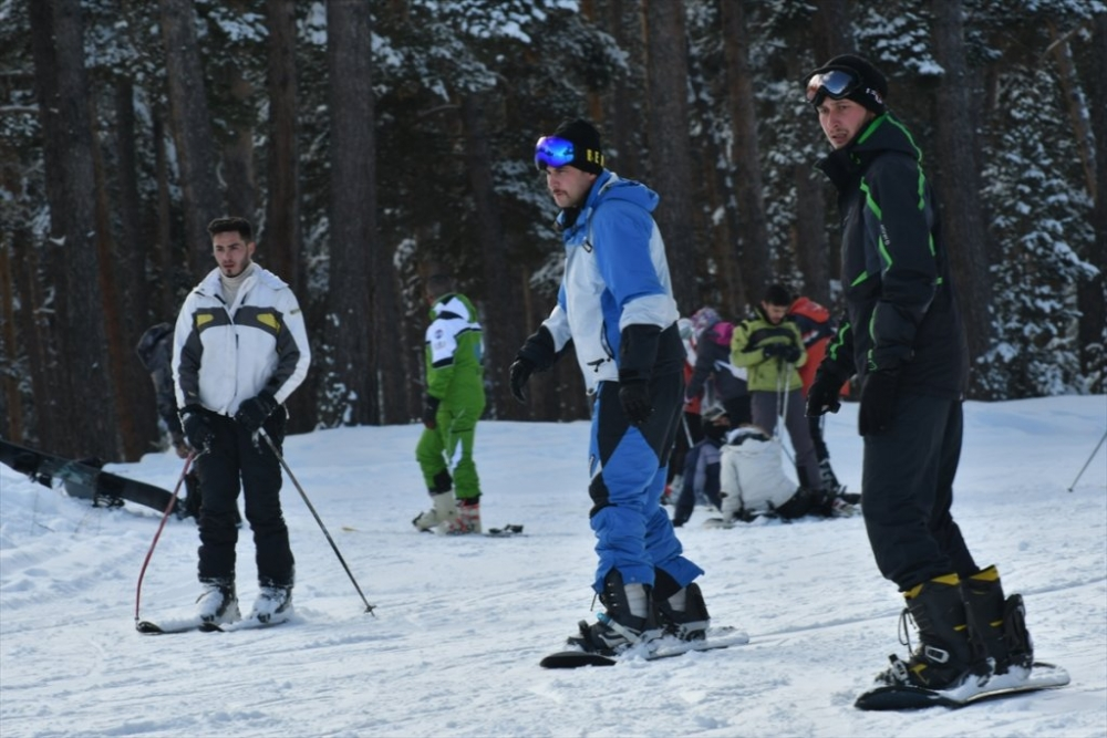 Sarıkamış'ta Kayak Sezonu Açıldı 30