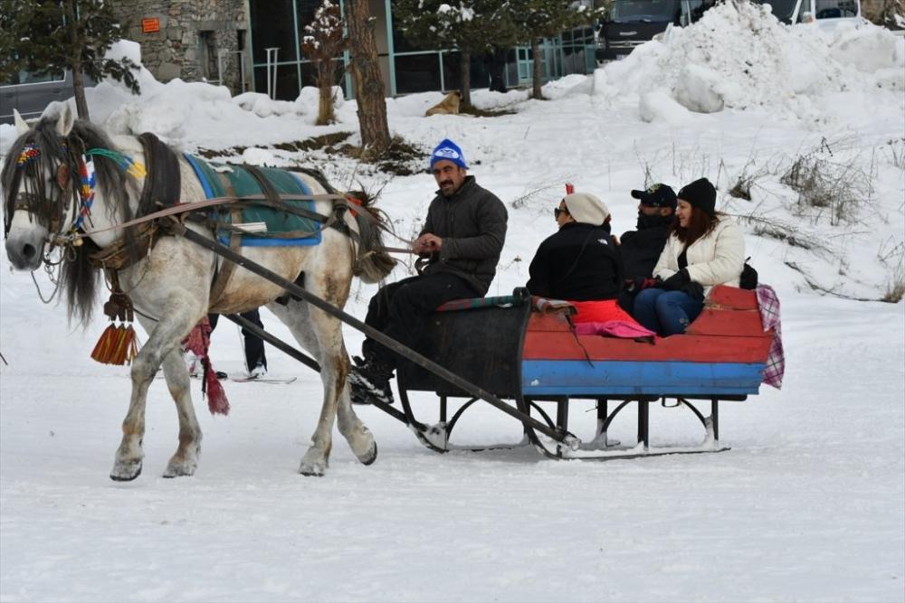 Sarıkamış'ta Kayak Sezonu Açıldı 32