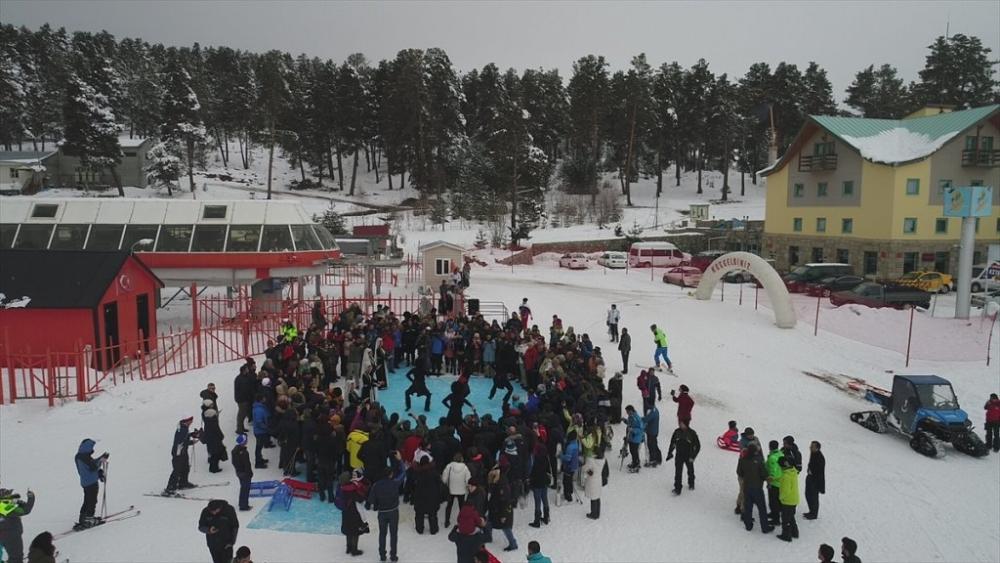 Sarıkamış'ta Kayak Sezonu Açıldı 33