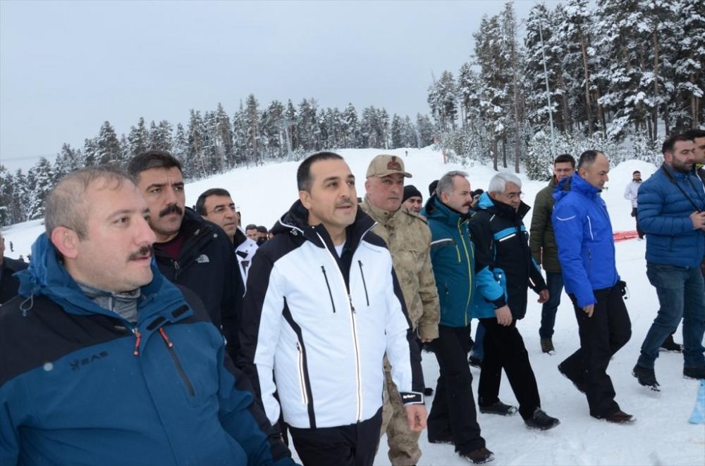 Sarıkamış'ta Kayak Sezonu Açıldı 36