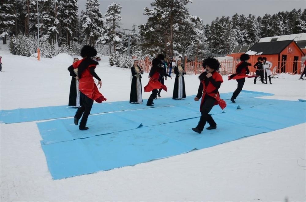 Sarıkamış'ta Kayak Sezonu Açıldı 37