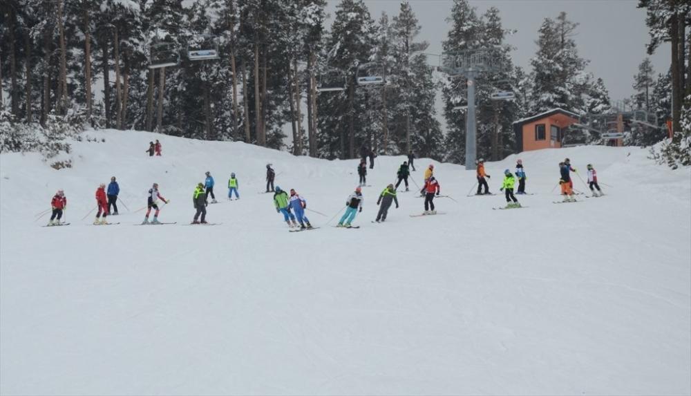 Sarıkamış'ta Kayak Sezonu Açıldı 5