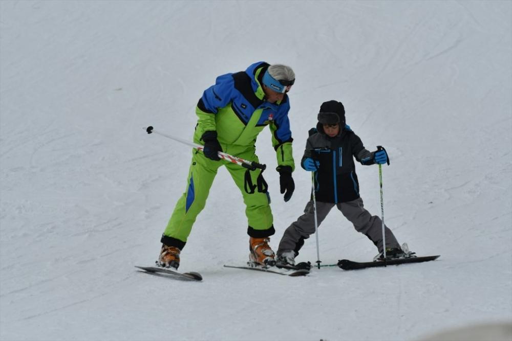 Sarıkamış'ta Kayak Sezonu Açıldı 6