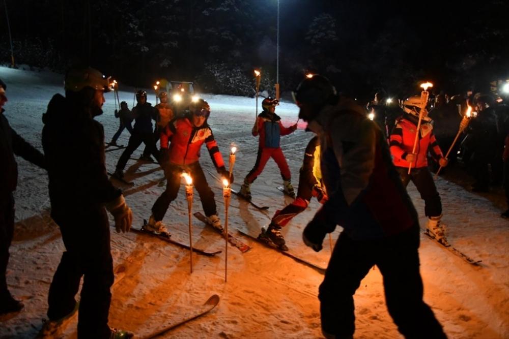 Sarıkamış'ta Kayak Sezonu Açıldı 7
