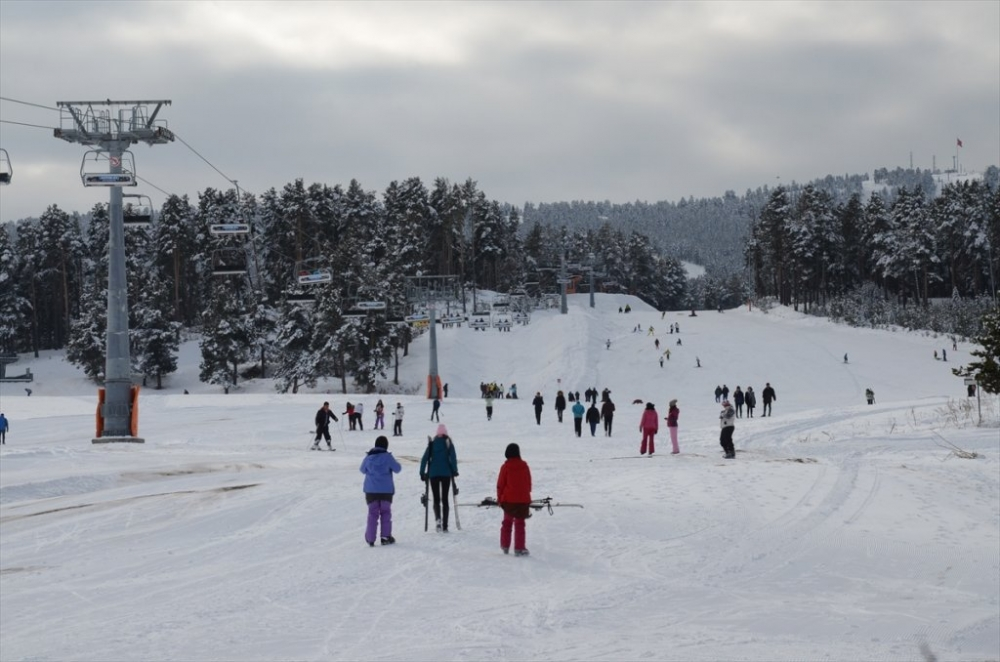 Sarıkamış'ta Kayak Sezonu Açıldı 9