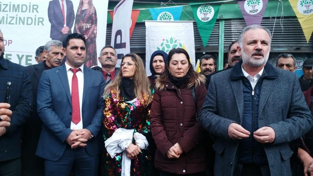 HDP'nin Digor Seçim Bürosu Açıldı 10