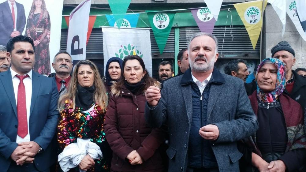 HDP'nin Digor Seçim Bürosu Açıldı 11