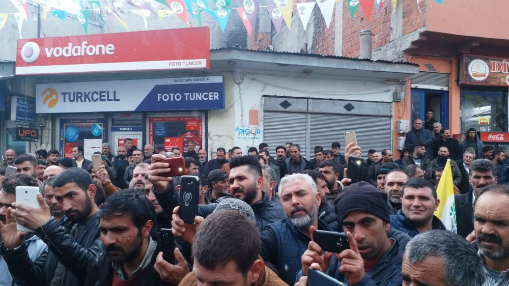 HDP'nin Digor Seçim Bürosu Açıldı 12