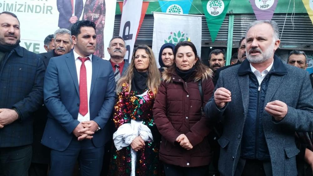 HDP'nin Digor Seçim Bürosu Açıldı 14