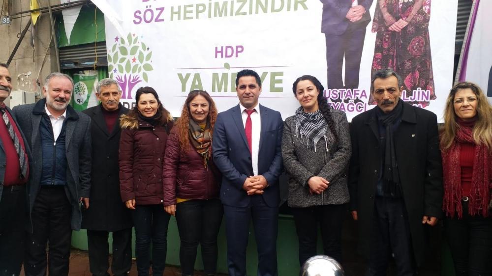 HDP'nin Digor Seçim Bürosu Açıldı 3