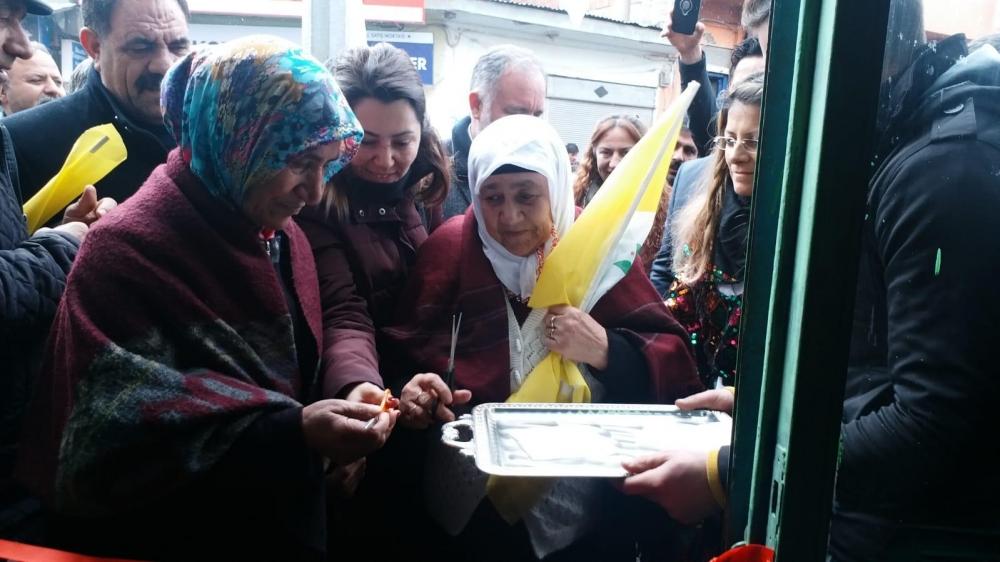 HDP'nin Digor Seçim Bürosu Açıldı 4
