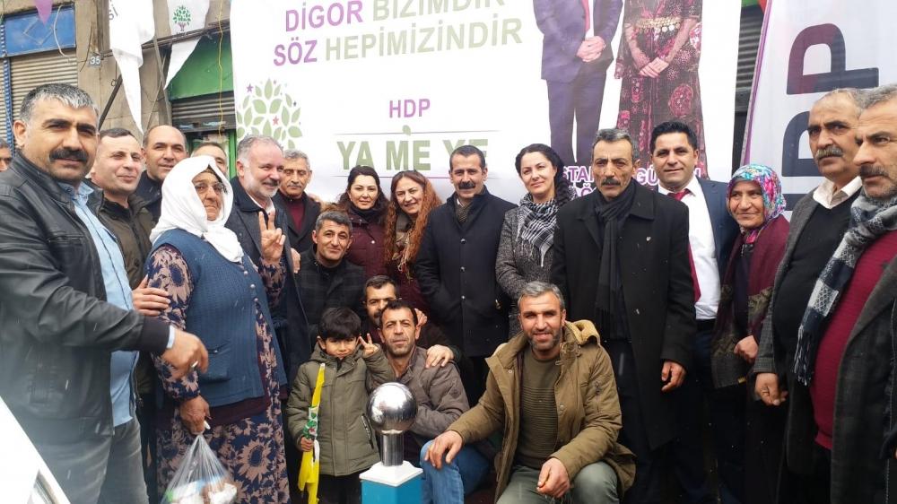 HDP'nin Digor Seçim Bürosu Açıldı 5