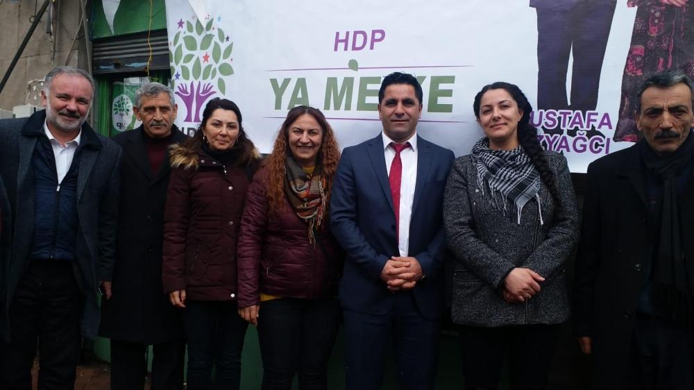 HDP'nin Digor Seçim Bürosu Açıldı 6