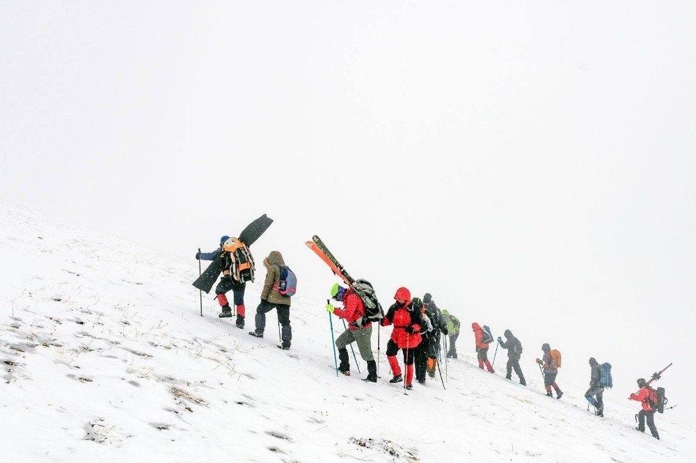 Karslı Dağcıların 'Gökçe Dağ' Yürüyüşü 2