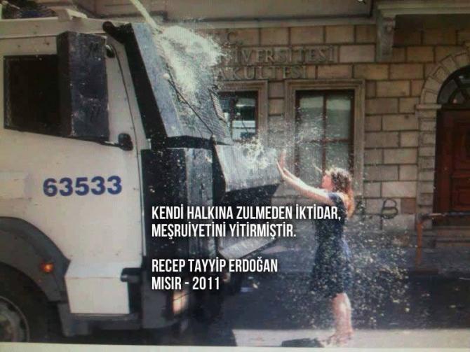 Gezi Direnişi 'Sosyal Medya'da 1
