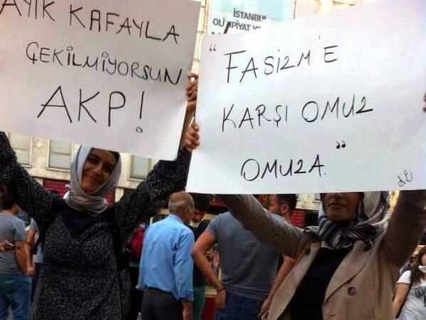 Gezi Direnişi 'Sosyal Medya'da 13