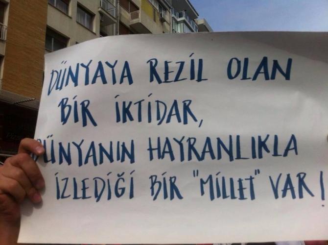 Gezi Direnişi 'Sosyal Medya'da 18