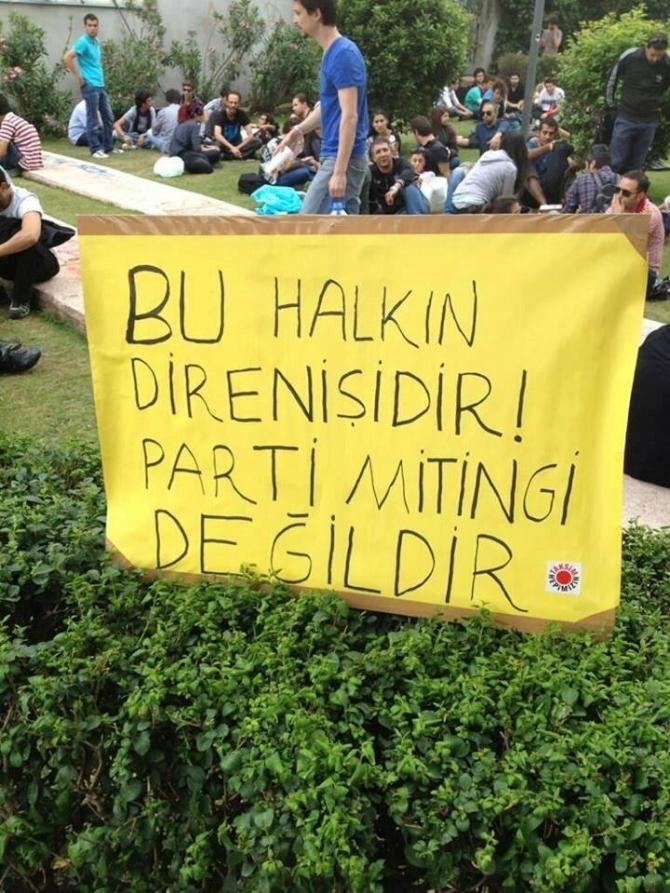Gezi Direnişi 'Sosyal Medya'da 19