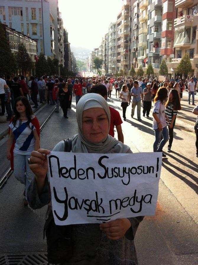 Gezi Direnişi 'Sosyal Medya'da 30