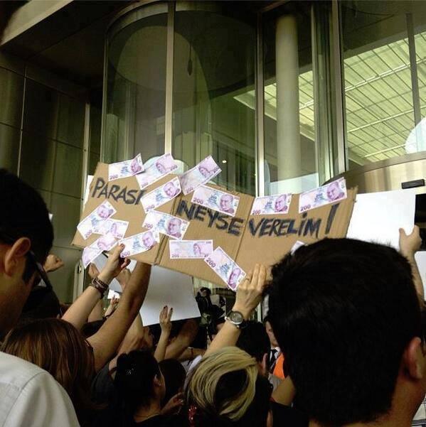 Gezi Direnişi 'Sosyal Medya'da 34