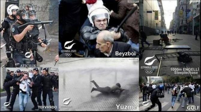 Gezi Direnişi 'Sosyal Medya'da 36