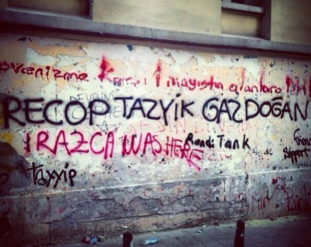 Gezi Direnişi 'Sosyal Medya'da 4