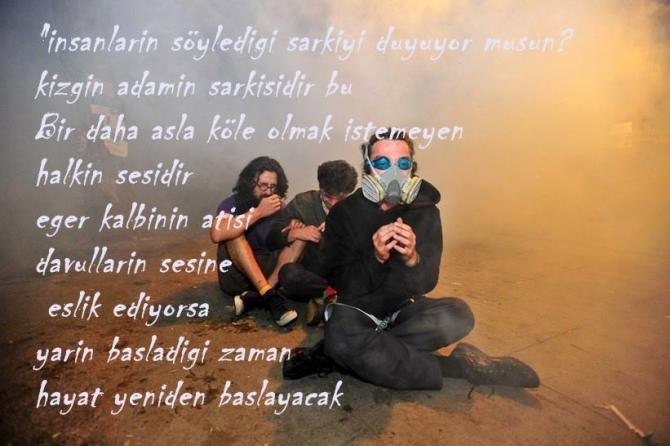 Gezi Direnişi 'Sosyal Medya'da 44