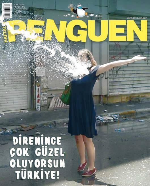 Gezi Direnişi 'Sosyal Medya'da 45